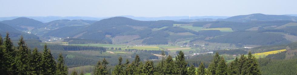Titelfoto Folgeseite Landschaft von Lichtenhard