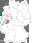 Lage Gemeinde Kirchhundem