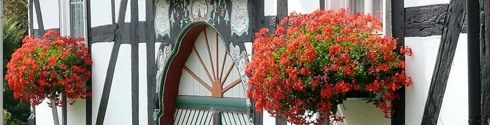 Fachwerkhaus Blumen